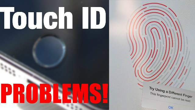 Touch ID Problems